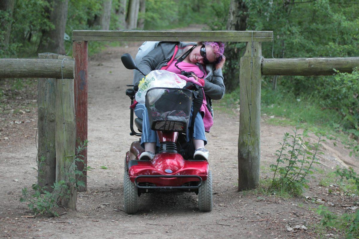 Cambio postural silla de ruedas